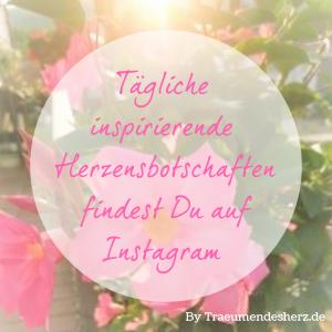 Herzensbotschaften auf Instagram